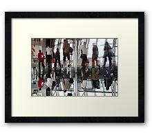 Reflection-Belgium Airport 2 Framed Print