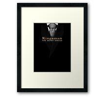 Kingsman: The Secret Service - Suit  Framed Print