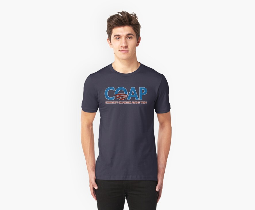 C.O.A.P. Community Organizers Against Palin t shirt by barackobama