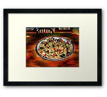 Bow Tie Pasta & Beans Framed Print