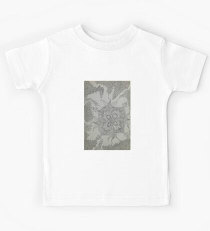 Black ink drawing Kids Tee