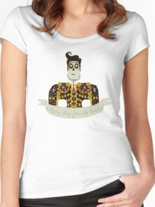 Manolo Sanchez - The Book of Life Women's Fitted Scoop T-Shirt