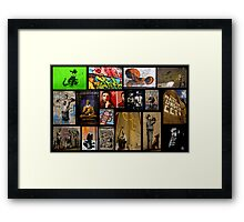 Banksy & Friends Framed Print