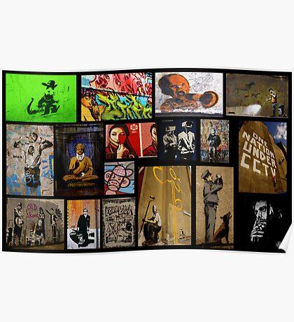 Banksy & Friends Poster