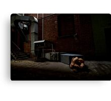 Born From This Earth - The Lovers Canvas Print