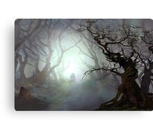 Blair Witch Woods Canvas Print