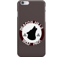 Beacon Hills Wolf Pack iPhone Case/Skin