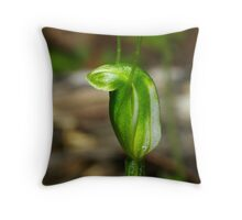 Dwarf Greenhood Throw Pillow