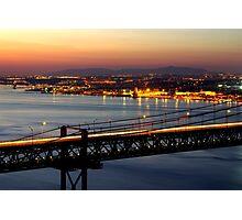Bridge Over Tagus Photographic Print