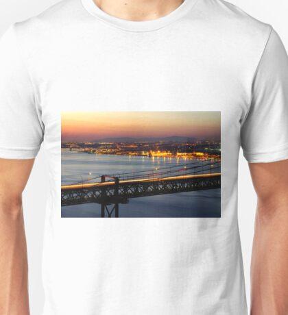 Bridge Over Tagus Unisex T-Shirt