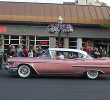 1958 Pink Cadillac  by DonnaMoore