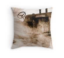 Caught  in between time #4 Throw Pillow