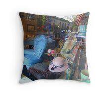 Window Display Throw Pillow