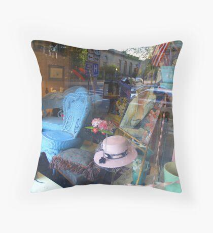 Window Display Throw Pillow