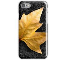 Lone Leaf iPhone Case/Skin