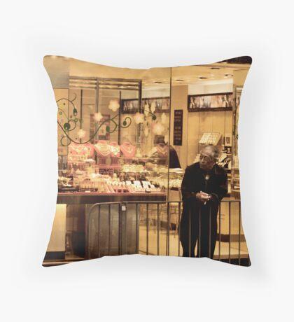 Hong Kong Man Throw Pillow