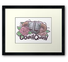 DovahQueen Framed Print