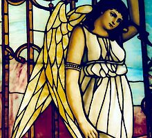 Angel - Stained Glass by pithypenny