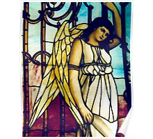 Angel - Stained Glass Poster