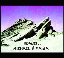 roswell tv show purple sky Michael & Maria by shesxmagic