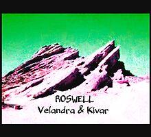roswell tv show Green sky Velandra & Kivar by shesxmagic