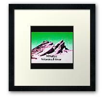 roswell tv show Green sky Velandra & Kivar Framed Print
