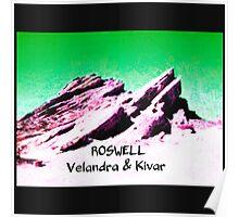 roswell tv show Green sky Velandra & Kivar Poster
