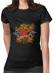 Love Hurts Womens Fitted T-Shirt