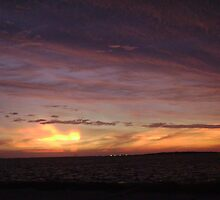 Hurricane Ike's Sunset 2008 #13 by Leah Smaridge