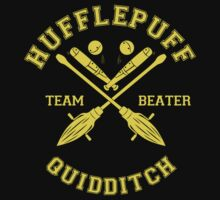 Hufflepuff - Team Beater by quidditchleague