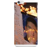 Reza Berati. Murdered in Manus.IMG_8273 iPhone Case/Skin