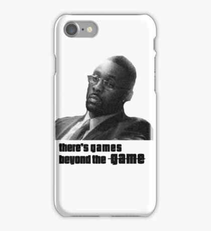 Stringer Bell - games beyond the Game iPhone Case/Skin