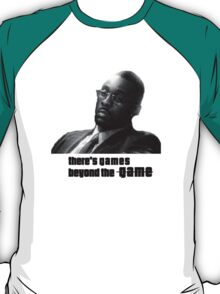Stringer Bell - games beyond the Game T-Shirt