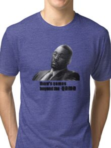 Stringer Bell - games beyond the Game Tri-blend T-Shirt