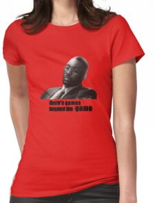 Stringer Bell - games beyond the Game Womens Fitted T-Shirt