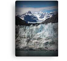 Glacier scene Canvas Print
