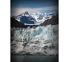 Glacier scene Photographic Print