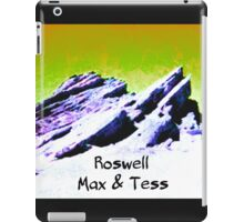 roswell tv show Yellow Sky Max & Tess iPad Case/Skin