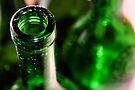 Green Glass Art by Jo Nijenhuis