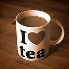 I love Tea by cameralucida