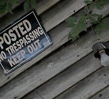 No Trespassing by Tiffany Brown