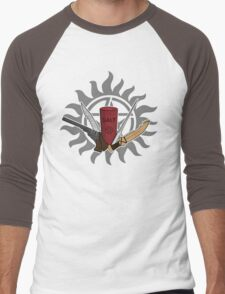 Supernatural Weapons Men's Baseball ¾ T-Shirt
