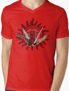Supernatural Weapons Mens V-Neck T-Shirt