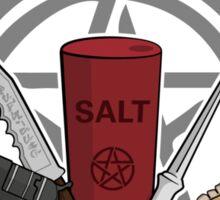 Supernatural Weapons Sticker