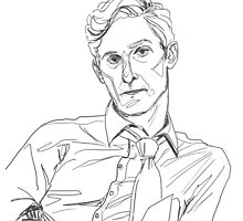 Rust Cohle line art by allolune