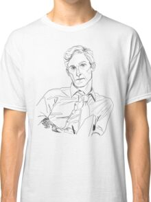 Rust Cohle line art Classic T-Shirt