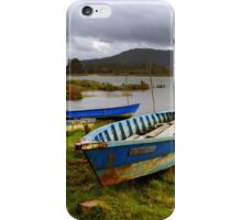 Old boats iPhone Case/Skin
