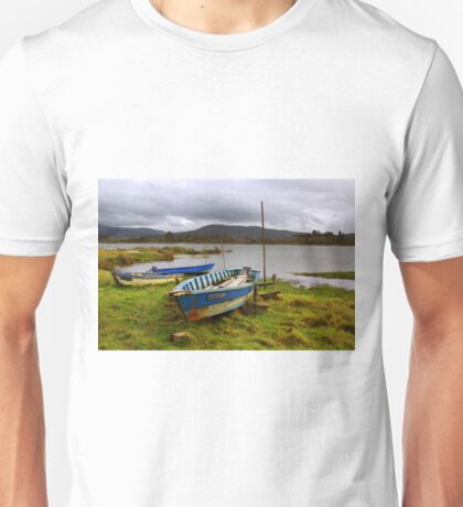 Old boats Unisex T-Shirt