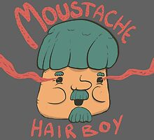 Moustache Hairboy by Bjørnar Skoglund