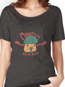 Moustache Hairboy Women's Relaxed Fit T-Shirt